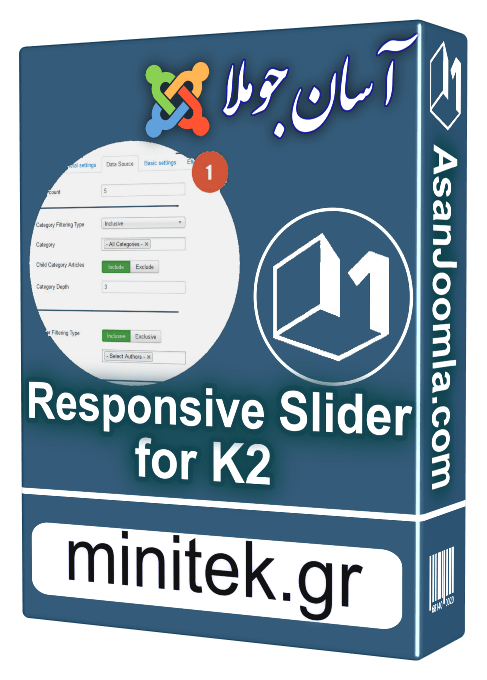 Download Responsive Slider for k2 3 0 8-image gallery and content slider  with animated captions