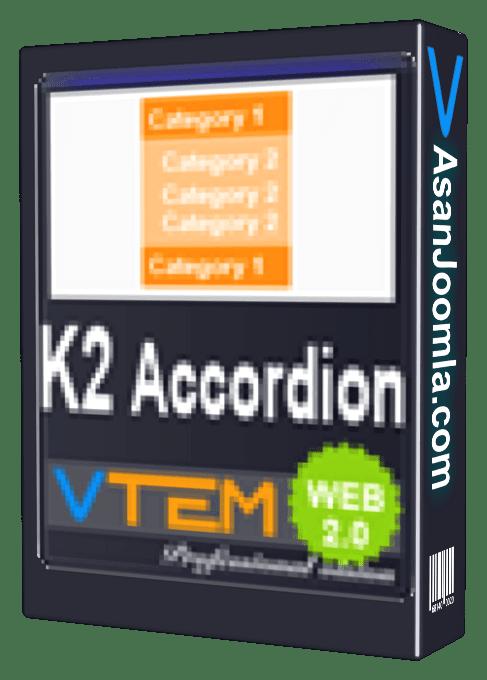 vtem k2 category accordion